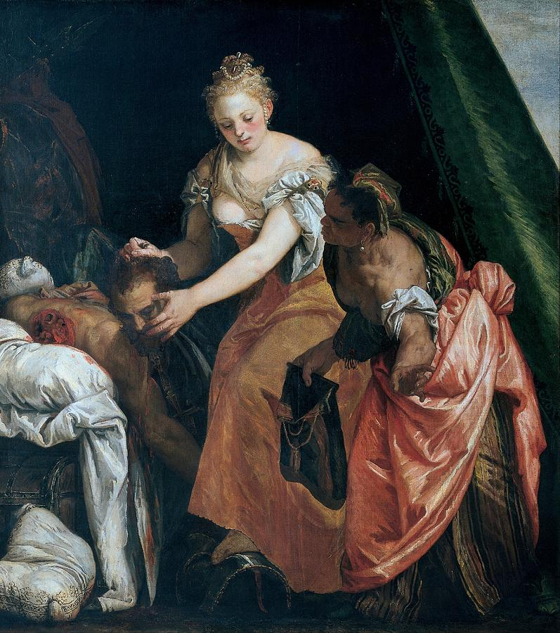Cinquecento Painting - Judith And Holofernes by Paolo Veronese