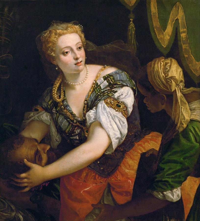 Cinquecento Painting - Judith With The Head Of Holofernes by Paolo Veronese