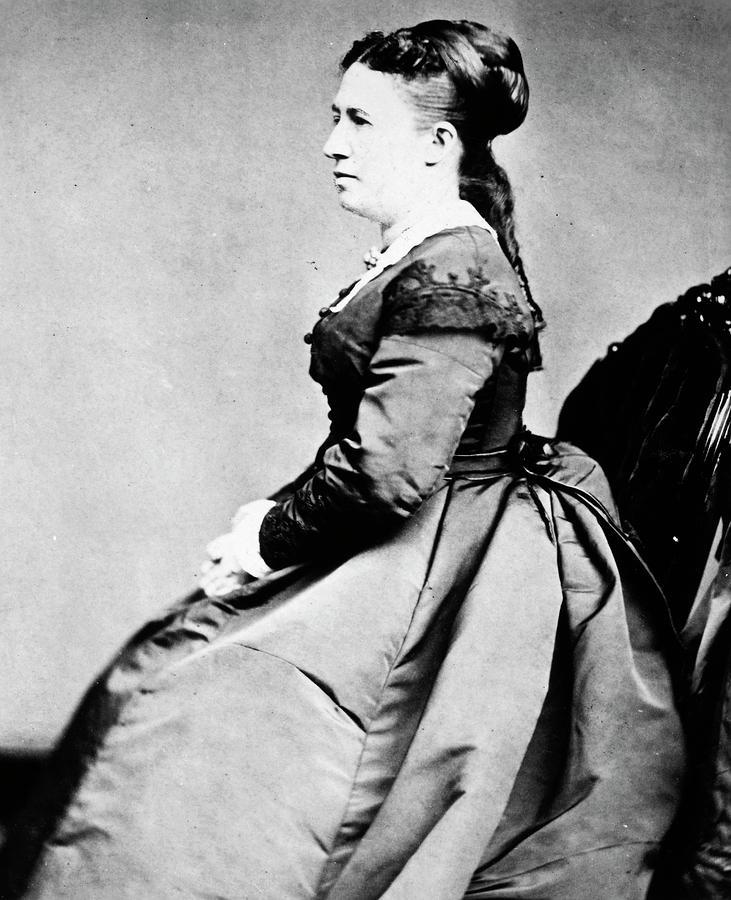 1870 Photograph - Julia D by Granger