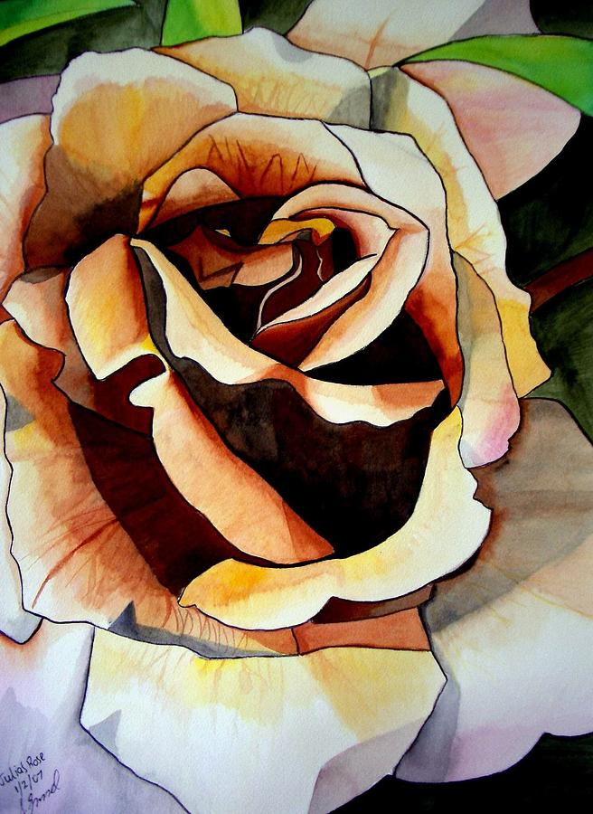 Rose Painting - Julias Rose by Sacha Grossel