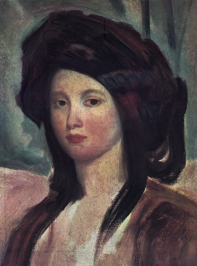 1827 Painting - Juliette Drouet (1806-1883) by Granger