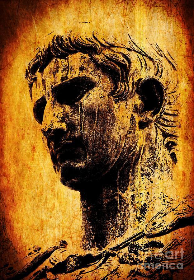 Julius Caesar Painting - Julius Caesar  by Michael Grubb