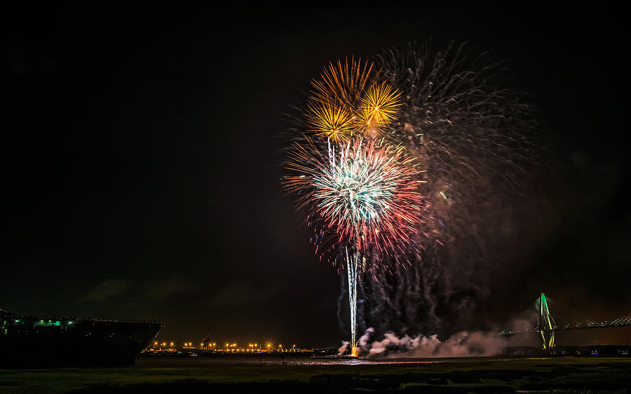 July 4th Photograph - July 4th by Ahmed Shanab
