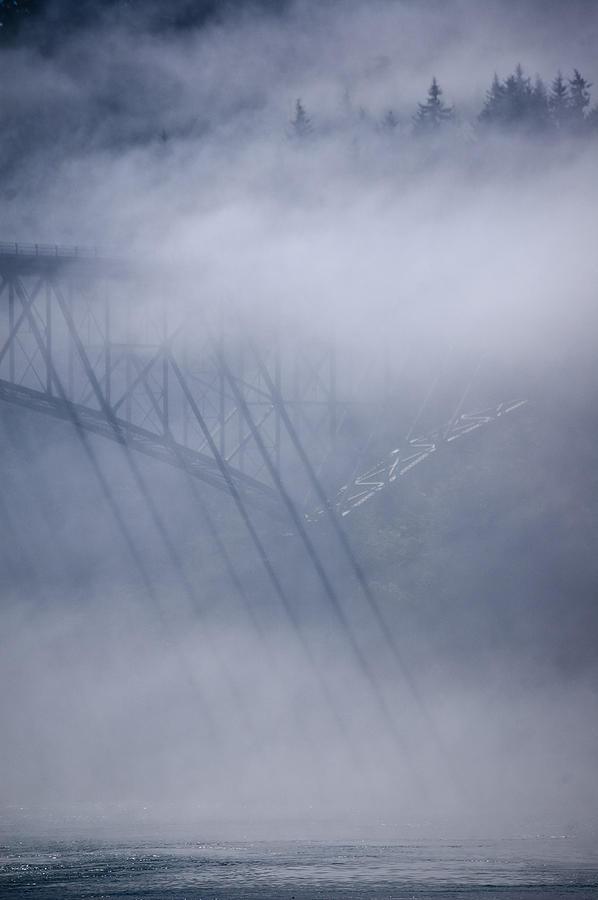 Deception Pass Photograph - Julys Illusions by Tom Trimbath