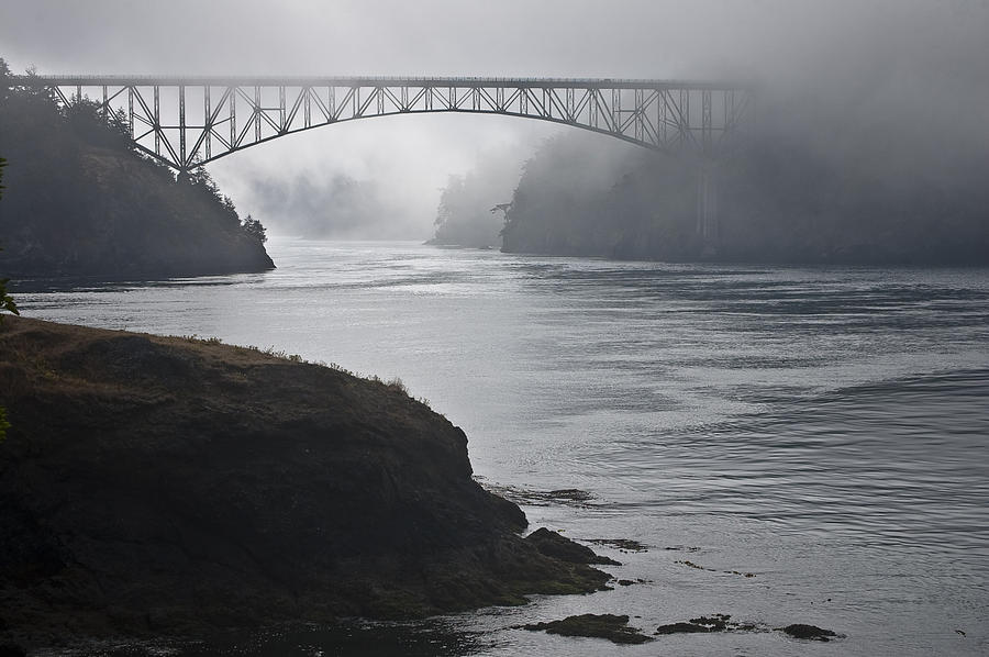 Deception Pass Photograph - Julys Passage by Tom Trimbath