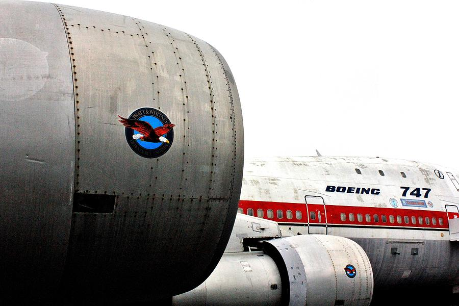 Boeing Photograph - Jumbo Jet by Benjamin Yeager