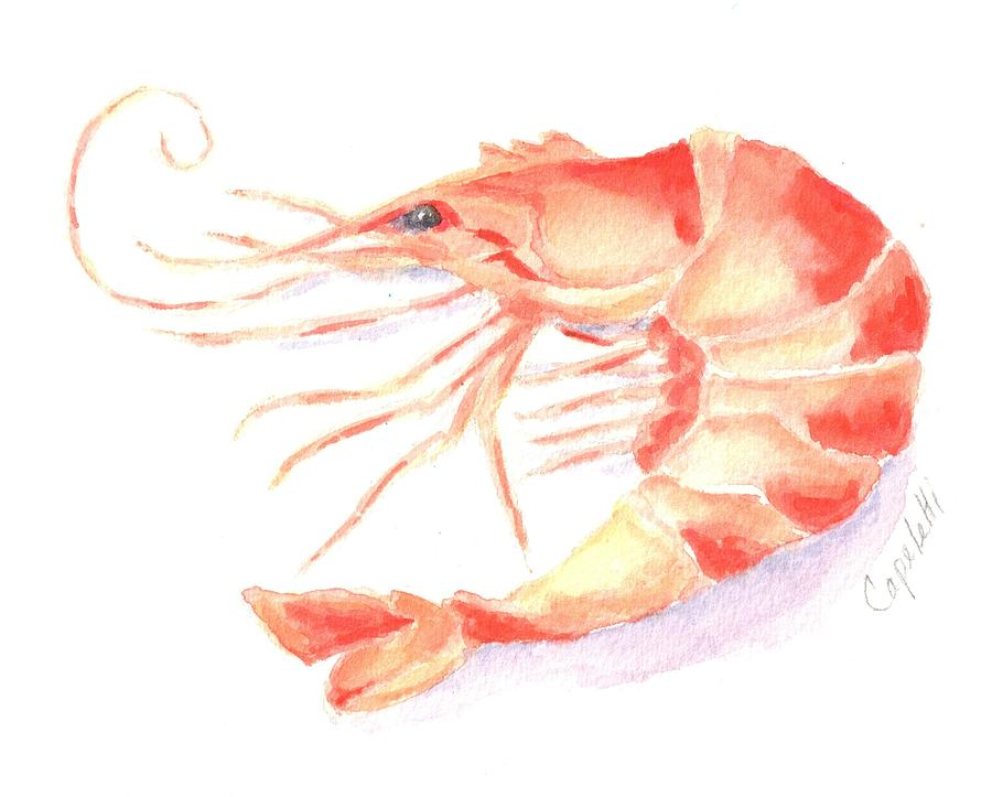Jumbo Shrimp Painting By Barb Capeletti