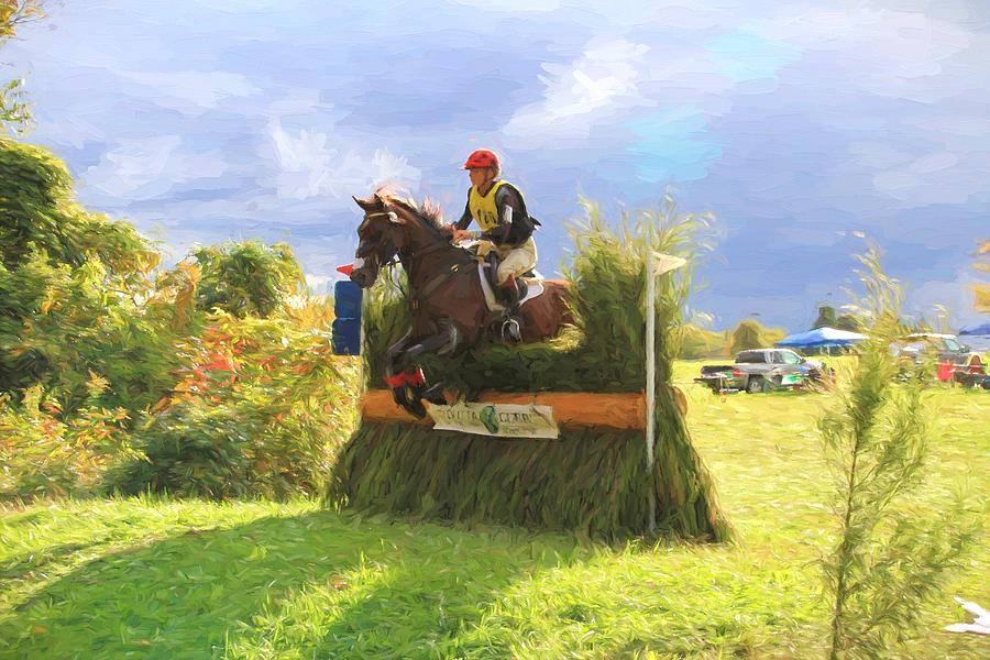 Eventing Photograph - Jumper Skies by Alice Gipson