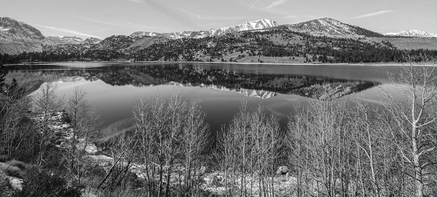 Landscape Photograph - June Lake Black and White by Robert  Aycock