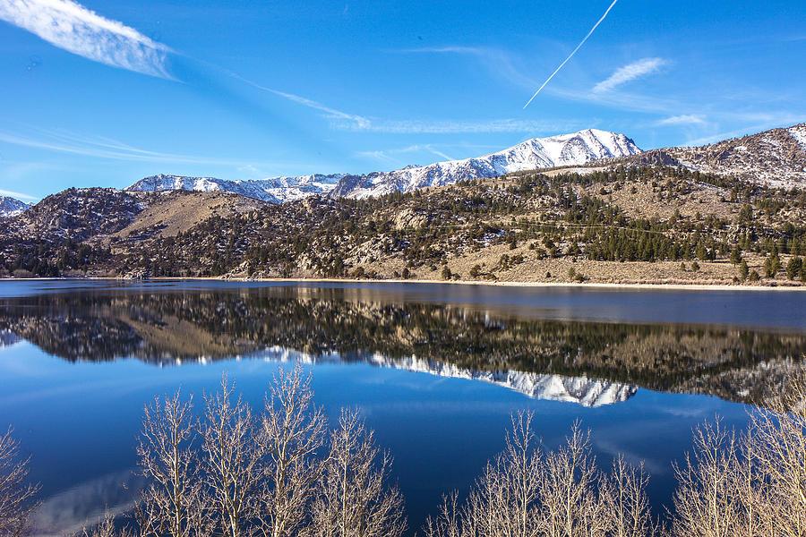 Landscape Photograph - June Lake Reflections by Robert  Aycock