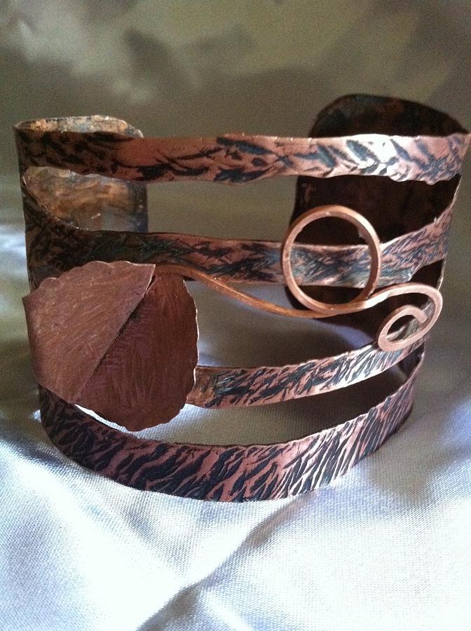 Bracelet Jewelry - Jungle Leaf by Tina Beal