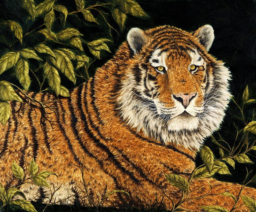 Animal Painting - Jungle Monarch by Rick Bainbridge