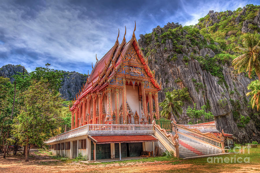 Architecture Photograph - Jungle Temple V2 by Adrian Evans