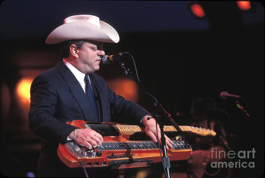 Country Photograph - Junior Brown by Concert Photos