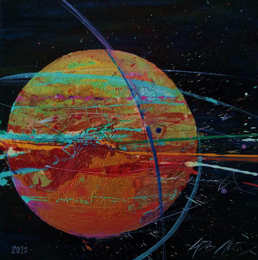 Jupiter Painting - Jupiterlicious by Chris Cloud