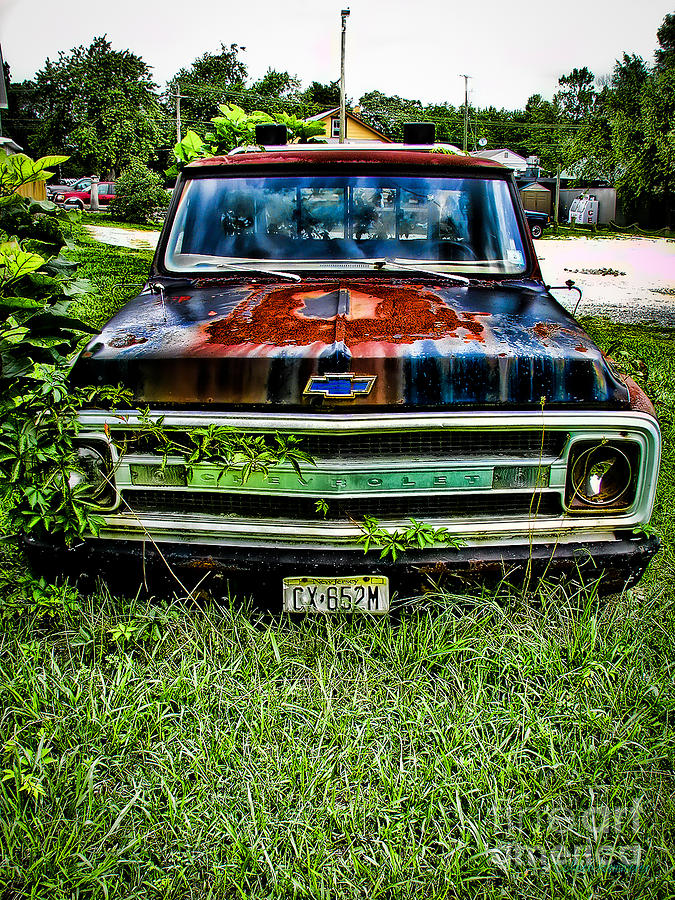 Truck Photograph - Just A Little Rusty by Colleen Kammerer