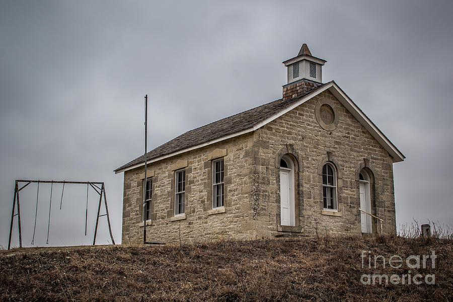 Prairie School Photograph - Just A Swingin by Jim McCain