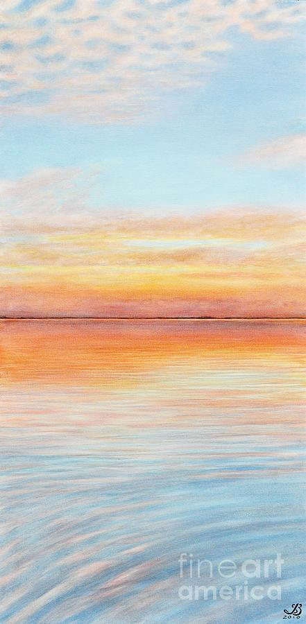 Sunset Painting - Just Another Day by J Barth
