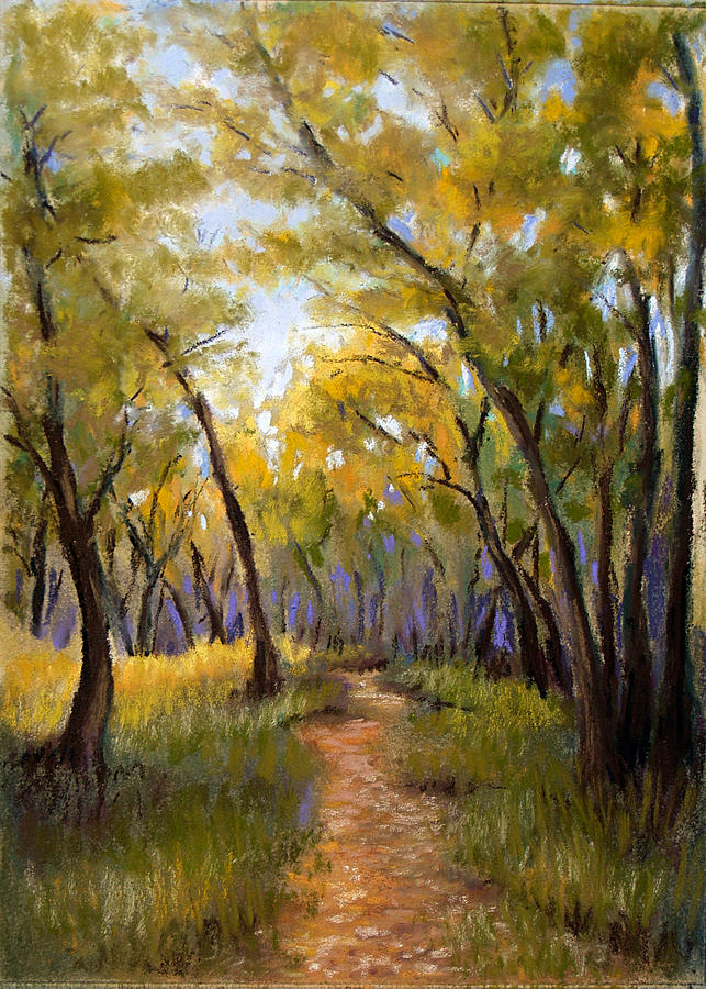 Landscape Pastel - Just Before Autumn by Susan Jenkins