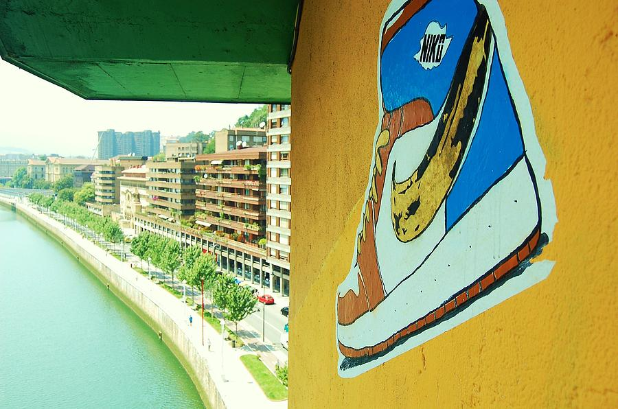 Shoe Photograph - Just Do It by HweeYen Ong
