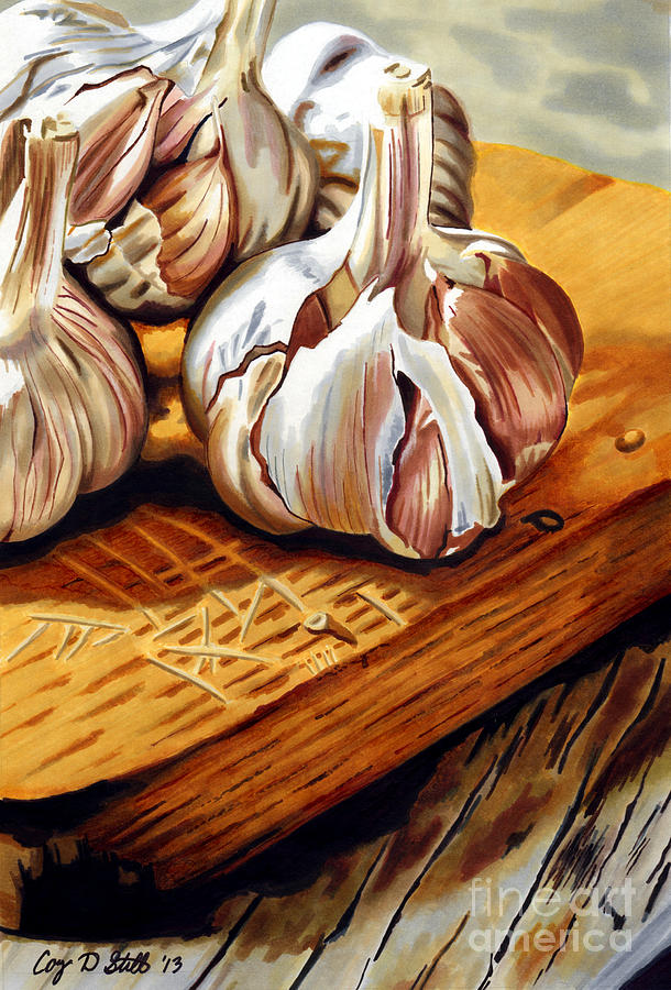Just Garlic by Cory Still