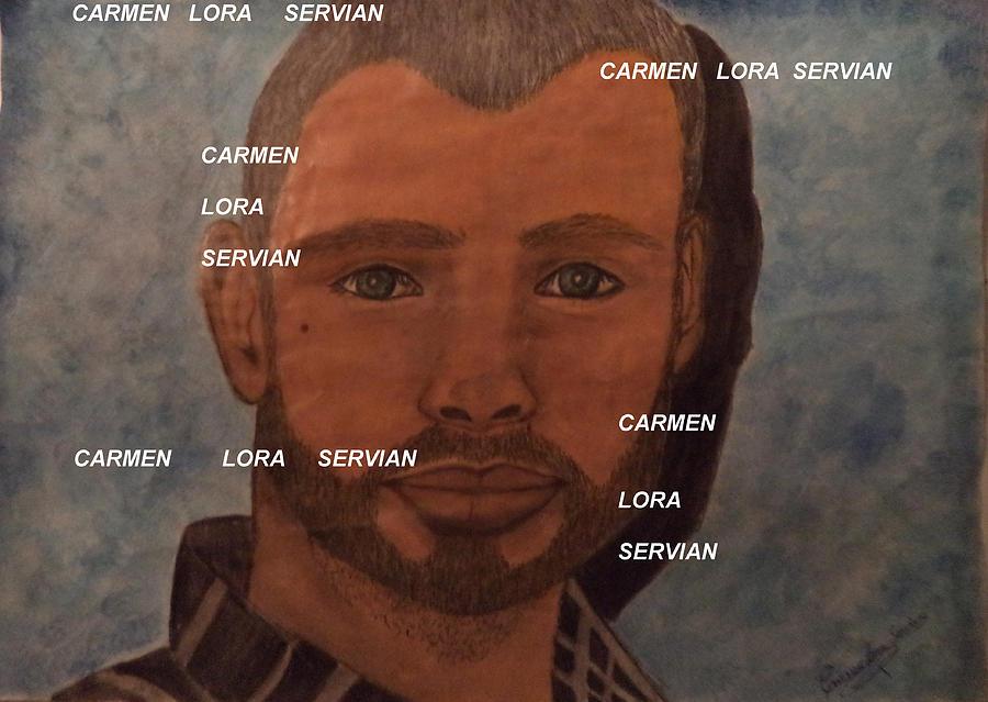 My Love Tom Welling Pastel - Just He My Love-tomwelling by Mary Carmen Lora Servian