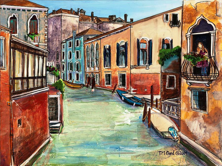Contemporary Painting - Just in the Neighborhood by TM Gand