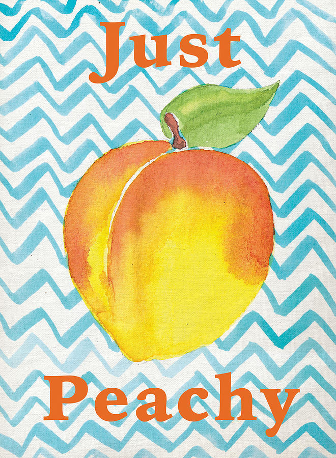 Just Peachy Painting Painting