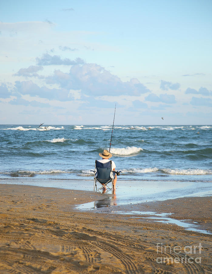 Angling Photograph - Just Relaxin And Fishin by Suzi Nelson