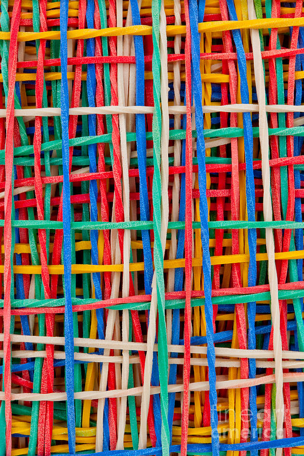 Abstract Sculpture - Just Strings Attached II by Shawn Hempel