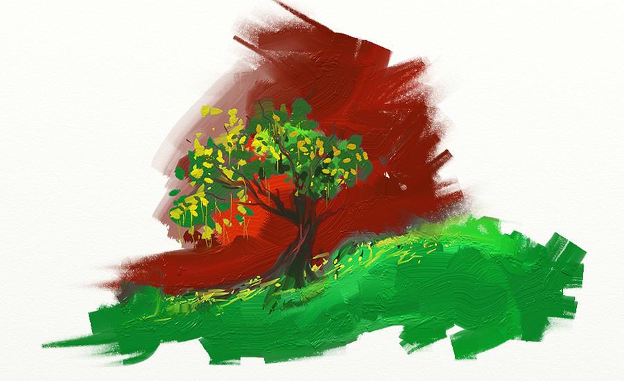 Just Tree Digital Art