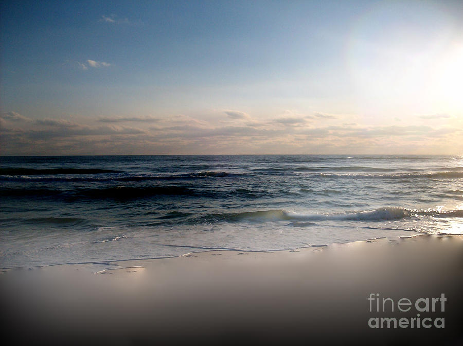 Seashore Photograph - Just When by Jeffery Fagan