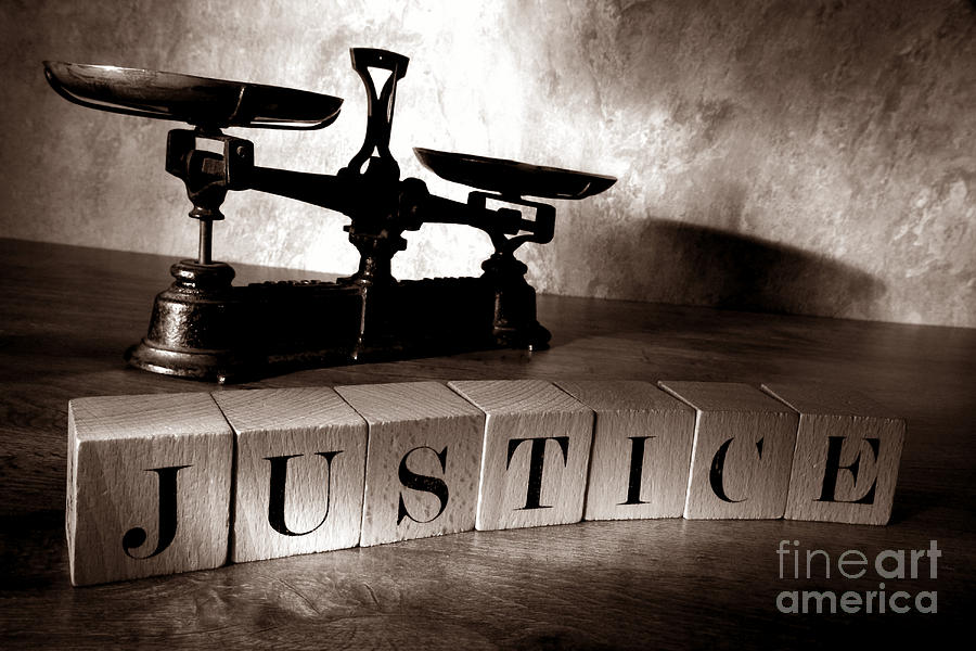 Justice Photograph - Justice by Olivier Le Queinec