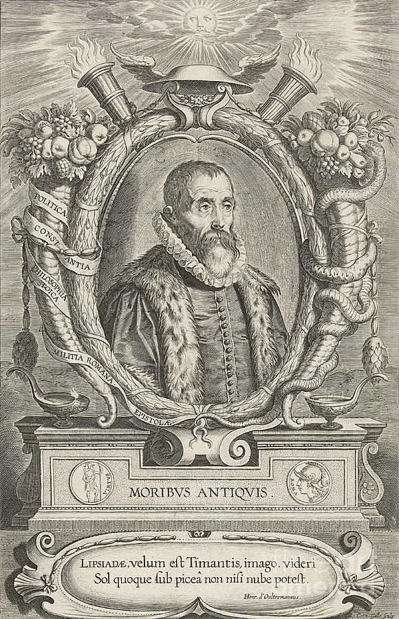 History Photograph - Justus Lipsius, Belgian Scholar by Photo Researchers