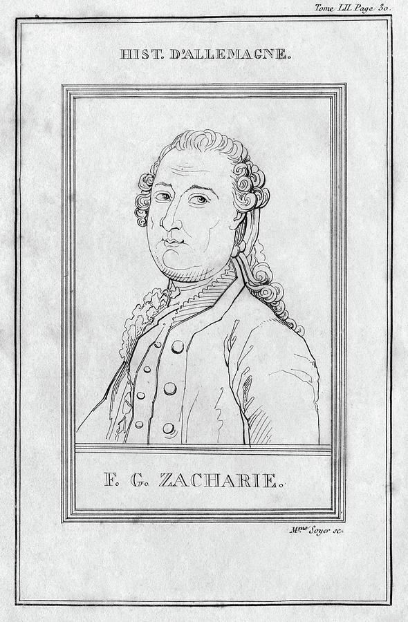 18th Century Painting - Justus Zachariae (1726-1777) by Granger