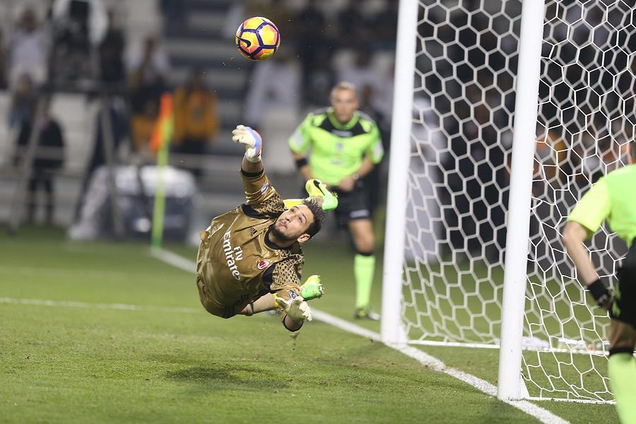 Juventus vs AC Milan - Italian Super Cup Final Photograph by Anadolu Agency