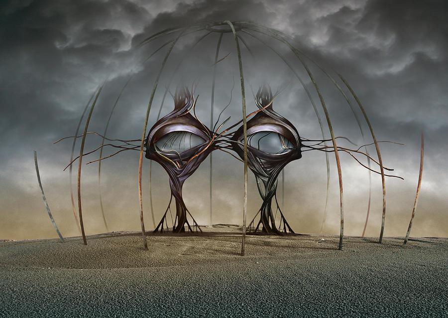 Surreal Digital Art - K106 by Radoslav Penchev