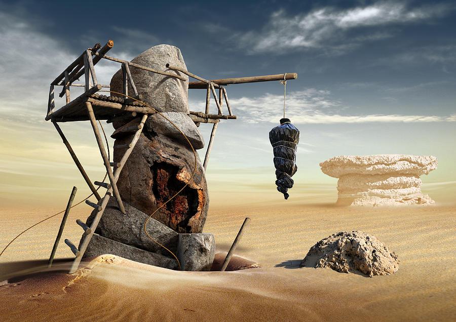Surreal Digital Art - K200 by Radoslav Penchev