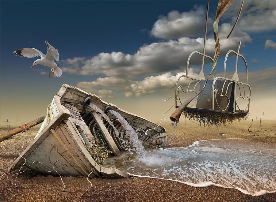 Surreal Digital Art - K205 by Radoslav Penchev