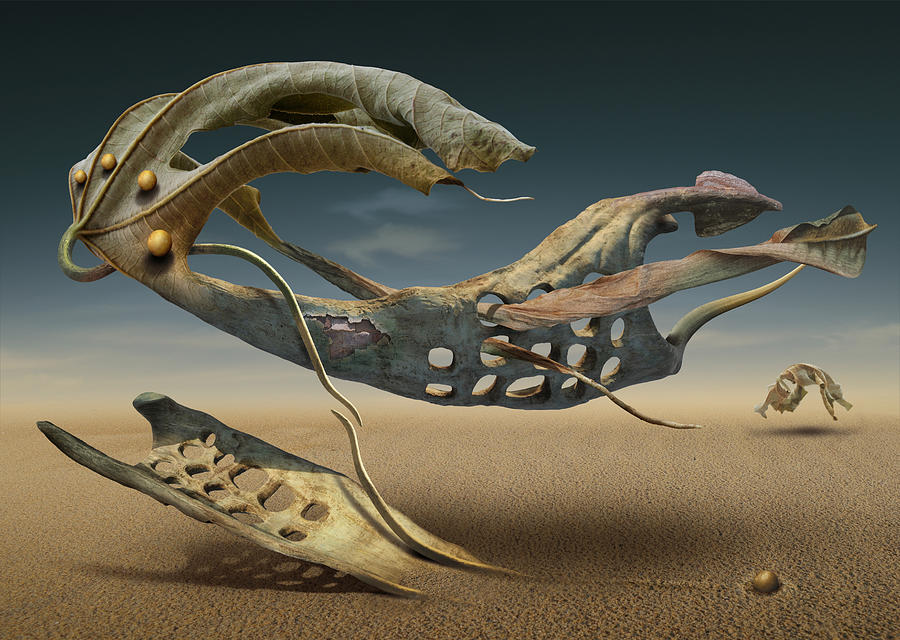 Surreal Digital Art - K214 by Radoslav Penchev
