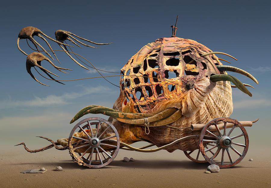 Surreal Digital Art - K218 by Radoslav Penchev