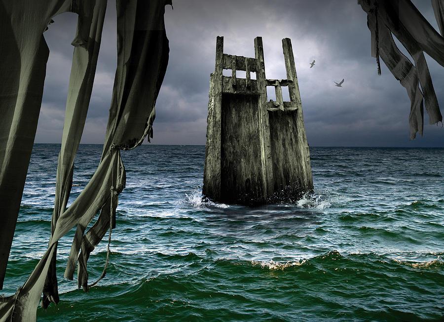 Surreal Digital Art - K48 by Radoslav Penchev