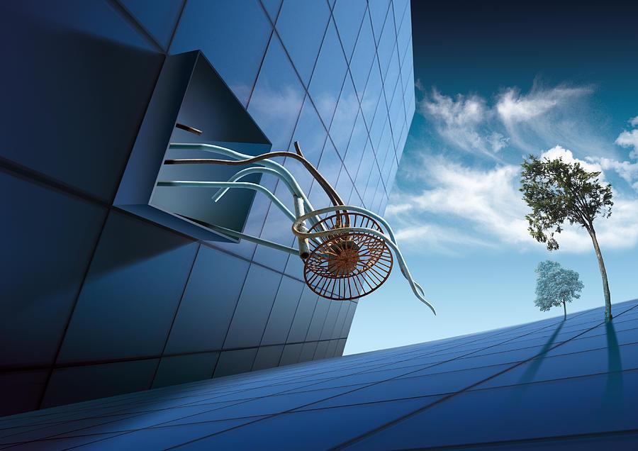 Surreal Digital Art - K63 by Radoslav Penchev