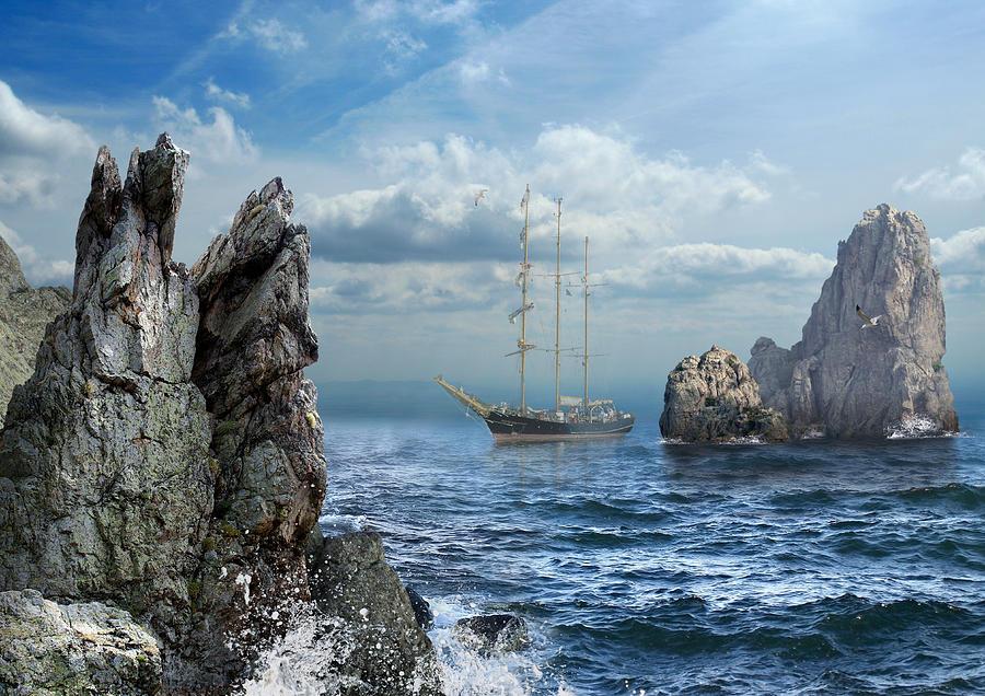 Surreal Digital Art - K65 by Radoslav Penchev