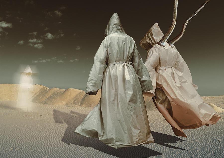 Surreal Digital Art - K84 by Radoslav Penchev