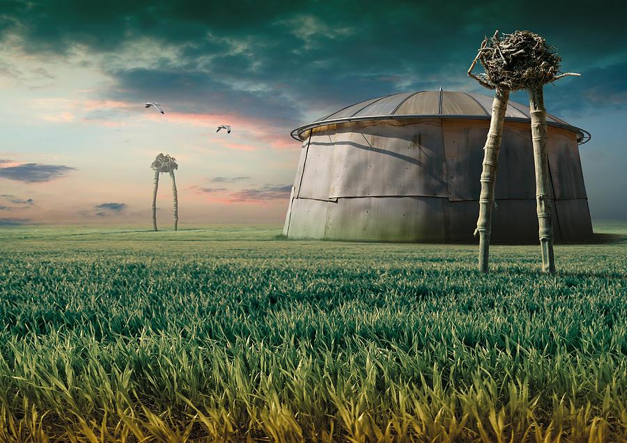 Surreal Digital Art - K85 by Radoslav Penchev