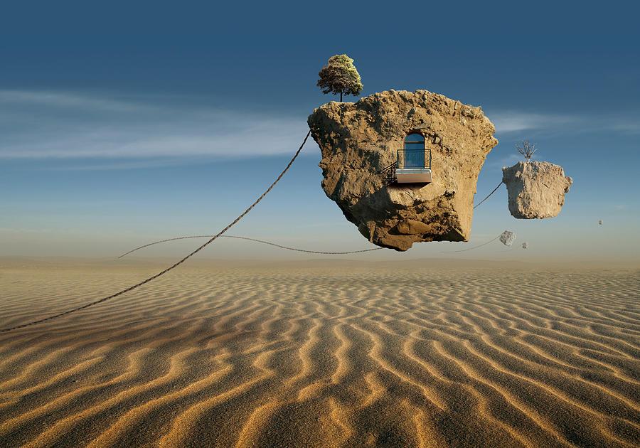 Surreal Digital Art - K95 by Radoslav Penchev