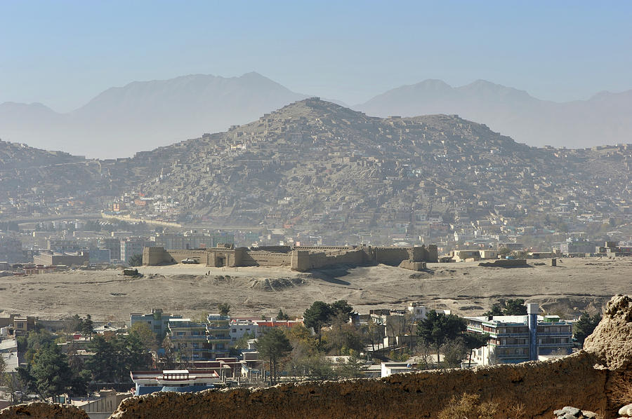 Kabul City View, Afghanistan Photograph by Christophe cerisier