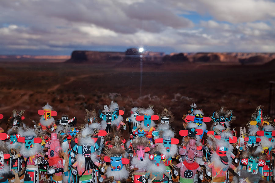 Kachina Gathering by Ron White