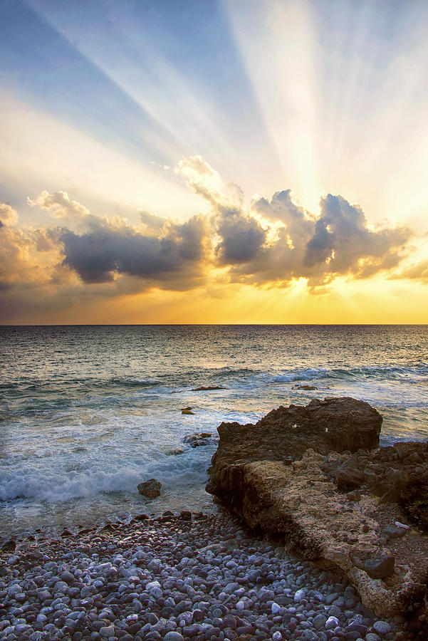 Sunsets Photograph - Kaena Point State Park Sunset 2 - Oahu Hawaii by Brian Harig
